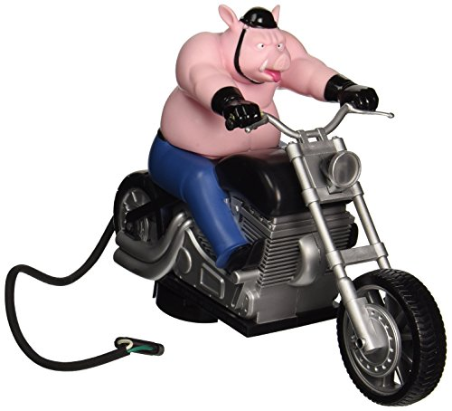 Hitch Critters Wheelie Hog Animated Ball Hitch Cover and Brake Light by Hitch Critters (Hitch Cover Light)