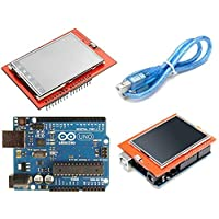 Arduino UNO R3 with 2.4 inch TFT Touch LCD Screen Shield
