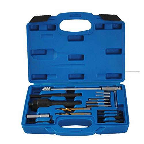 Glühkerzen Demontage Ausbohr Gewinde Reparatur Werkzeug Set Glühkerzenreparatur Ausbohrwerkzeug M8 M10