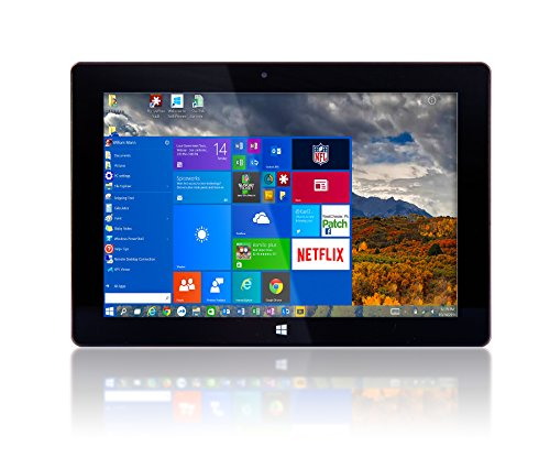 10 Windows 10 Fusion5� Ultra Slim v1 Windows Tablet PC - 2GB RAM - 32GB Storage -FWIN232v1 Model - Full USB Port - Intel AtomTM x5-Z8350 (From September 2017) - Dual Camera - Bluetooth Tablet PC