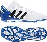 adidas Unisex-Erwachsene Nemeziz Messi 18.3 FG Fußballschuhe Weiß (Ftwbla/Negbás/Fooblu 001) 38 2/3 EU