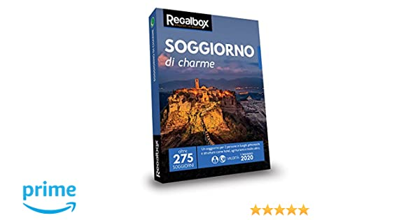 Regalbox - Soggiorno di charme 2018 - Cofanetto regalo: Amazon.it ...