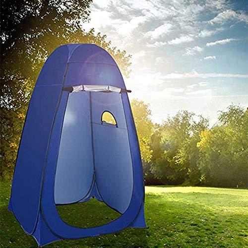 FDSEP Pop up Toilettenzelt Umkleidezelt, Umkleidekabine Outdoor Camping Strand Baden Badezelt einfaches Zelt, blau