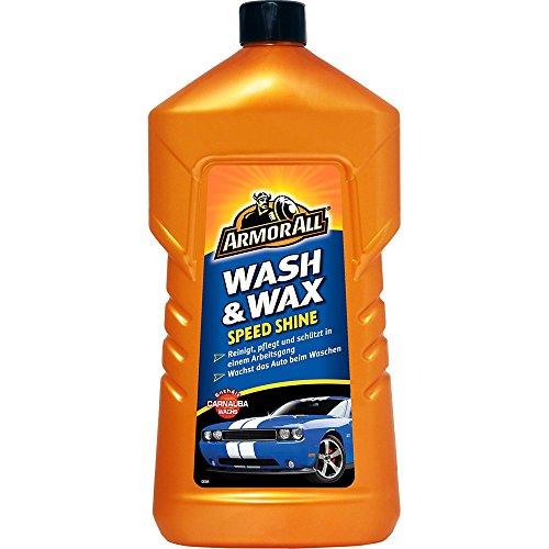 ARMOR ALL Wash & Wax Speed Shine 1.000 ml GAA24001GEO, Reinigung, Pflege und Schutz mit Carnaubawachs