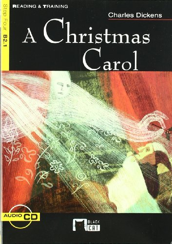 A Christmas Carol+cd N/e (Black Cat. reading And Training) por Cideb Editrice S.R.L.