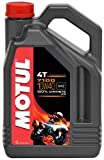 Motul 104092 7100 10W40 Huile moto 100% synthèse 4T 4 L