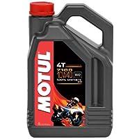 Motul 104092 7100 10W40 Huile moto 100 % synthèse 4T 4 L pas cher