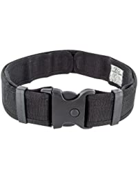 Highlander Mens Army Combat Military Security Utility Belt Quick Release SWAT Black New