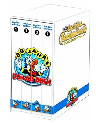LTB Sonderedition 80 Jahre Donald Duck - Box mit 4 LTB Sonderbänden Lustiges Taschenbuch 2014