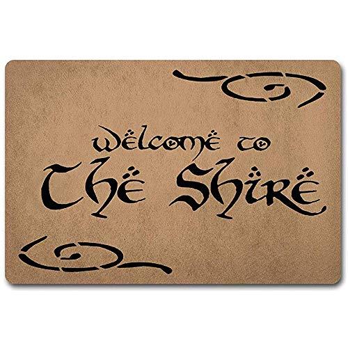 Cy-ril Bienvenido Felpudo 60X40Cm The Shire El Señor
