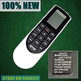 Calvas - Telecomando per condizionatore d'aria GREE YAN1F1 YAM1F YX1F YB1FA YT1F YAA1FB YAN1F1F AC