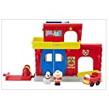 Mattel Fisher-Price BGC67 - Little People Feuerwehr Station