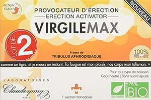 Claude Paris Virgile Max Provocateur D'érection Flash - 2 Sachets Monodoses