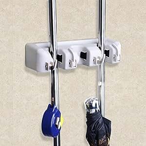 sole ger tehalter wandhalterung f r besen mopp und gartenwerkzeuge speicher wandhalterung. Black Bedroom Furniture Sets. Home Design Ideas