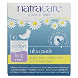 PACK OF 3 Natracare Organic Cotton Ultra Pad With Wings Long