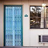 PANDABOOM 3D Nachgeahmte Falttür Aufkleber Wandhauptdekor PVC Kunst Poster Abnehmbare Türaufkleber 45X200Cmx2Pcs