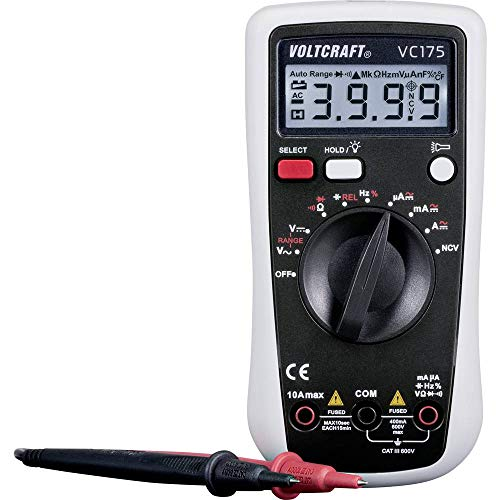 VOLTCRAFT VC175 Hand-Multimeter digital CAT III 600 V Anzeige (Counts): 4000