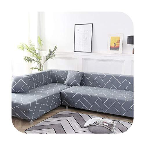Agust D 1 / 2Pc Sofabezüge für Wohnzimmer Needs Order Sofa Bezug-Set (2Piece) Wenn L-Form Ecksofa Möbel Von Kindern Haustiere, Farbe 11,2-Seater 145-185Cm Schützen -