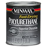 Minwax 23000 Fast Drying Polyurethane Gloss, 1/2-Pint by Minwax
