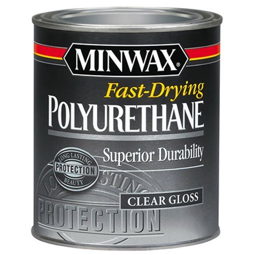 Minwax 23000 Fast Drying Polyurethane Gloss, 1/2-Pint by Minwax -