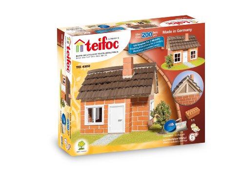 Teifoc - 2042820 - Jeu De Construction En Briques - Maison À Colombages