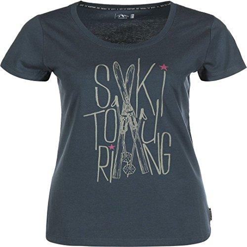 Maloja KaskadenM W T-Shirt Charcoal