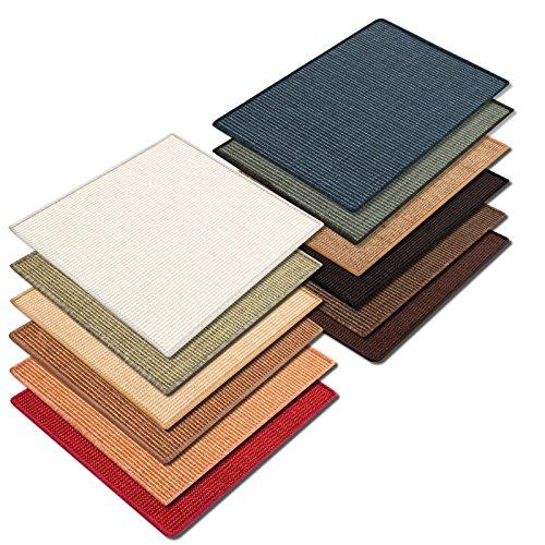 Floori® Sisal Kratzteppich | Naturfaser: nachhaltig und umweltfreundlich | Natur, 50x50cm - 4