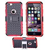 iPhone 6S Coque,iPhone 6 Coque, Fetrim Armor Support Protection Étui,anti chocs...