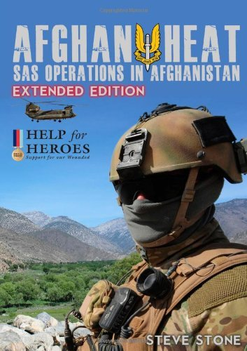 Buchcover: Afghan Heat: Sas Operations in Afghanistan: Written by Steve Stone, 2014 Edition, Publisher: lulu.com [Paperback]