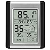dsstyle LCD Display Digital-elektronische Thermometer und Luftfeuchtigkeit Monitor Vertikal Placement für Baby-Raum Home Office