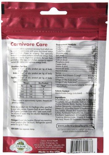 Oxbow Animal Health Critical Care, Carnivore, 70 Gram Bag 4