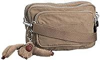 Kipling Womens Multiple Cross-Body Bag Warm Grey