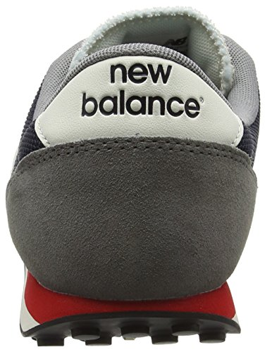 New Balance Unisex-Erwachsene 410 Laufschuhe Mehrfarbig (Grey/Navy)