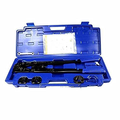 mabelstar 1632b PEX Rohr Installation Zange mit Druck Numerische Anpassung, mit TH stirbt von 16, 20, 25& 32mm