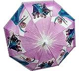 #10: Dhinchak Girl's Fabric Artbox Girlish Print Umbrella Medium (Multicolour)