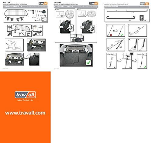 Travall® Guard Hundegitter TDG1355 - Maßgeschneidertes Trenngitter in Original Qualität -