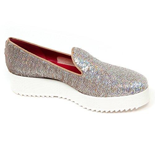 D0718 mocassino donna UNO 8 UNO 181 SHAK scarpe multicolore loafer shoe woman Multicolore