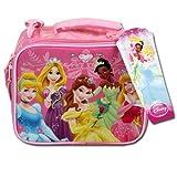 Disney Princess Pink Rectangle Lunch Bag For Girls