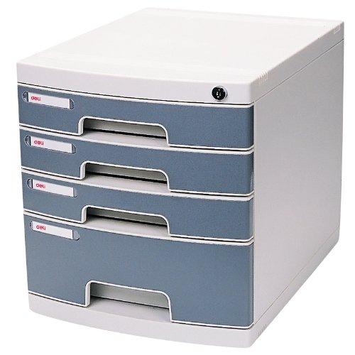 Home Office luce file cabinet A4Carta Archive cassetto deposito COMPUTER con chiavi 4 Drawers