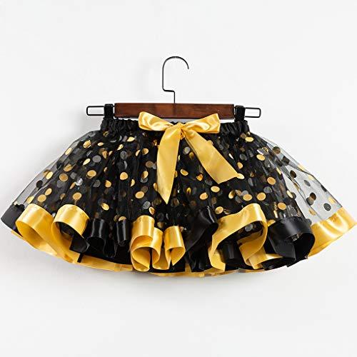 Tensay Mädchen Kinder Tutu Party Dance Ballett Kleinkind Baby Kostüm Dot Print Röcke - Verschiedene Arten Von Ballett Kostüm