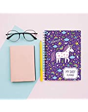 PRINTELLIGENT to Do List Notebook: Undated Daily Planner Personal and Business Activities, A5 Size