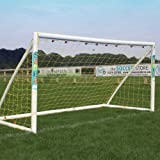 Samba 8 x 4ft Fun Football Goal - Garden Goal Posts, Complete with Football Net, Clips and Pegs