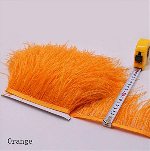 34Farben, mit Fransen, Orange