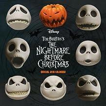 Nightmare Before Christmas Official 2018 Calendar - Square Wall Format (Calendar 2018)