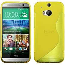 Luxburg® HTC One M8 Custodia TPU - Jaune