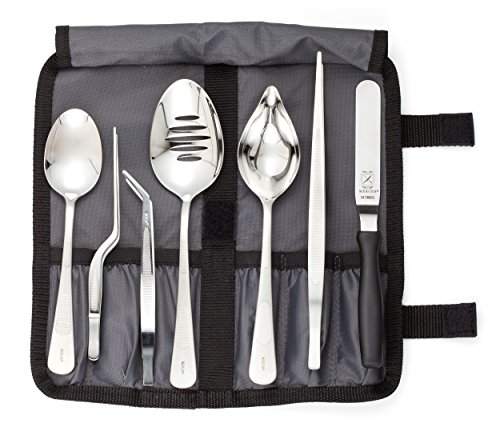 mercer-culinary-8-piece-stainless-steel-professional-chef-plating-kit-black-silver