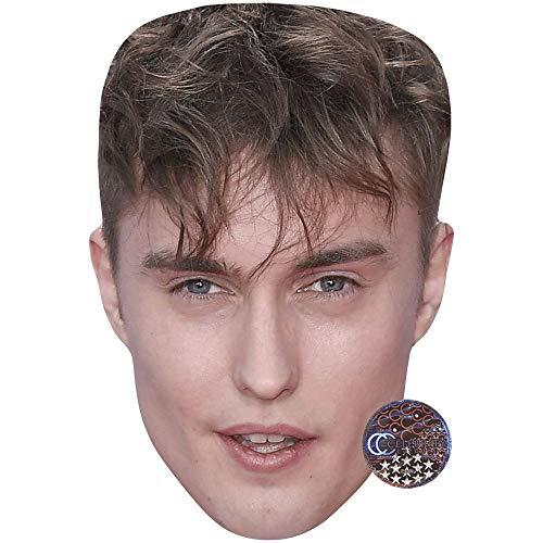 Celebrity Cutouts Sam Fender (Brown Hair) Big Head (Fender Head)