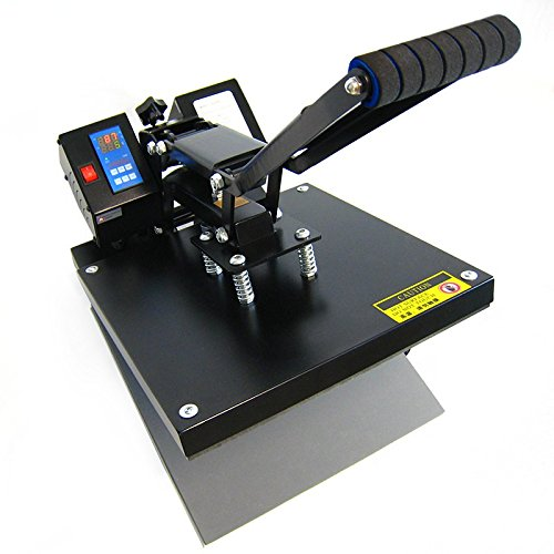 HobbyCut AA1-S Transferpresse 38cm x 38cm Textilpresse 2000 Watt Modell 2016