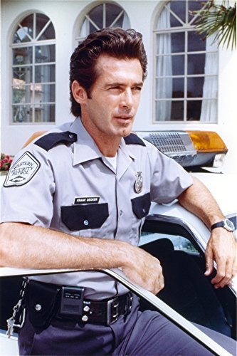 The Poster Corp Jack Scalia in Cop Outfit Portrait Photo Print (60,96 x 76,20 cm)