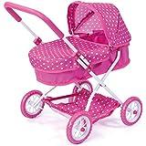 Bayer Design - Cochecito de muñeca, Smarty, color rosa (12268AA)